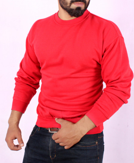 Red Comfortable Stylish Sweat Shirt FW-14