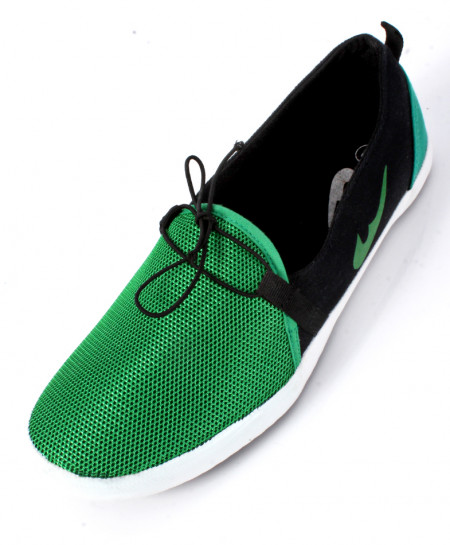 Green Stylish Canvas Shoes SC-1009