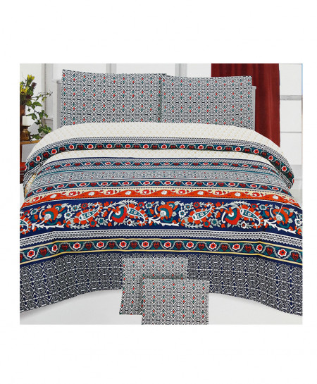 MultiColor New Trendy Style Cotton Bedsheet SY-384