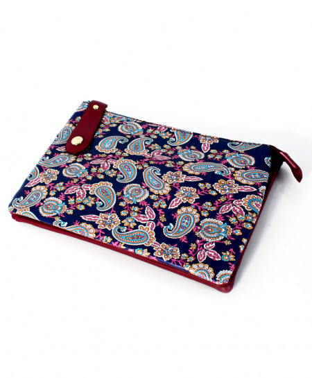 Purple Varicolored Design Stylish Clutch GL-1211