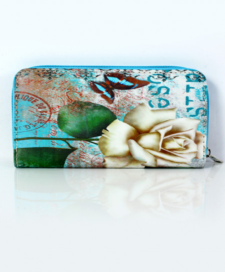 Varicolored Printed Design Stylish Clutch GL-1223