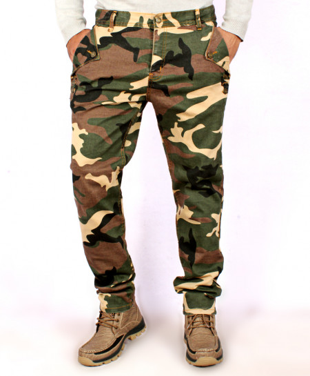 Camouflage New Fashion Drop Crotch Trouser QZS-172