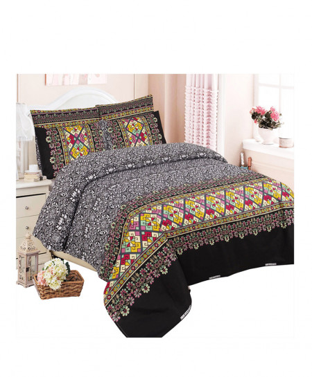MultiColor Trendy Style Cotton Bedsheet SY-391
