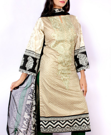 Light Green Embroidered Stylish Ladies Suit NM-3420