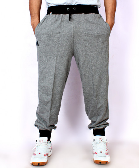 Grey French Terry Narrow Bottom Trouser FSL-063