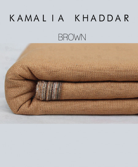 Brown Winter Kamalia Khaddar Unstiched Suit NMC-08