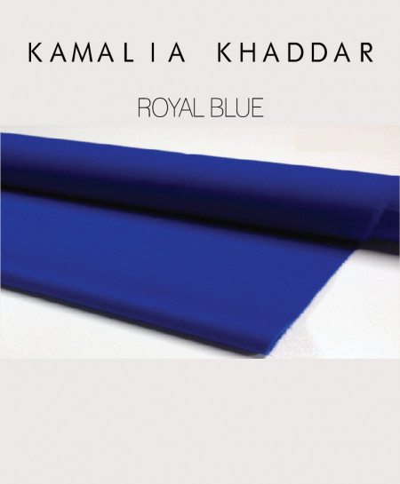 Royal Blue Winter Kamalia Khaddar Unstiched Suit NMC-13