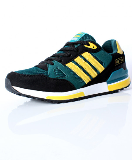 buy gray yellow stripes design sports shoes dr 367