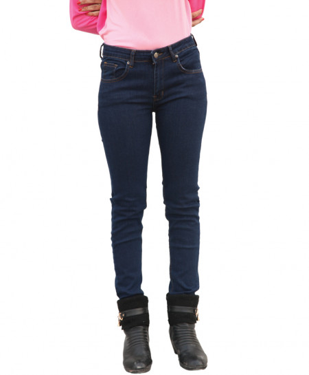 Dark Blue Skinny Ladies Jeans SF-037