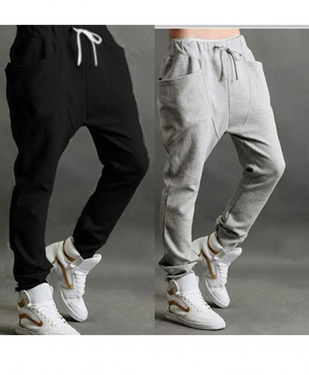 Pack of 2 Harem Baggy Tapered Trousers QZS-081