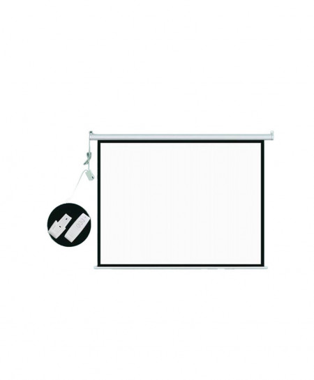 Projector Screen 5Ft X 7Ft 100 Inch 4:3MW Speed CZ-148