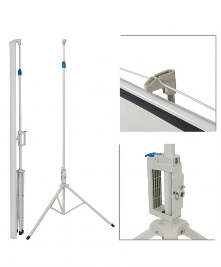 Projector Stand 5Ft x 5Ft 84 Inch 4:3MW Speed CZ-162
