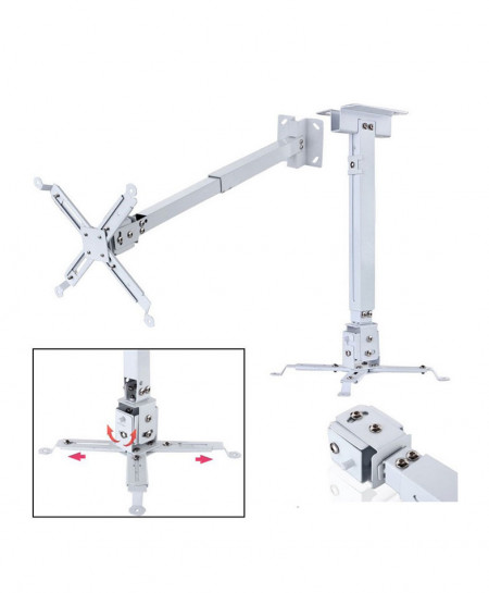 Projector Ceiling Mount 2 Feet 0.6M CZ-167