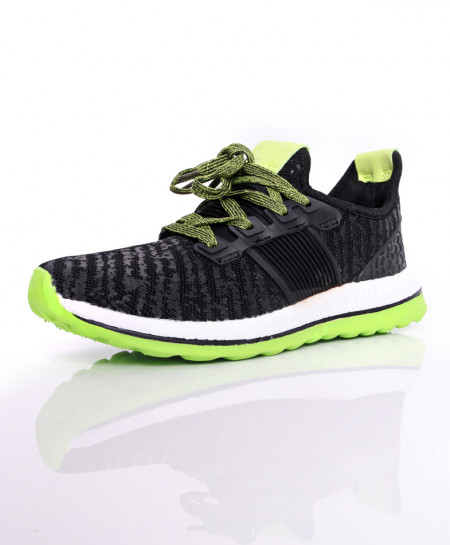 Black Green Style Design Sport Shoes DR-399