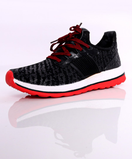 Black White Style Design Sport Shoes DR-400