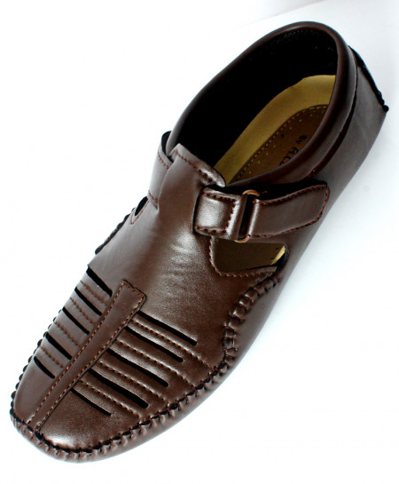 Dark Brown Stylish Casual Sandal DR-406