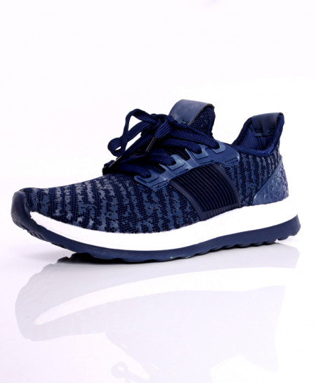 Navy Blue Stylish Design Sport Shoes DR-412