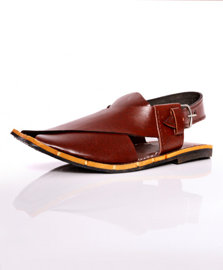 Dark Brown Stylish Peshawari Sandal AK-1038