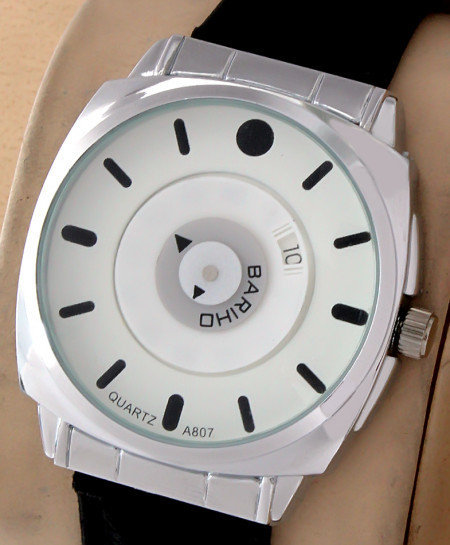Bariho Round Dial Stylish Casual Watch A-807