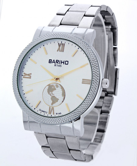 Bariho Round Dial Stylish Casual Watch R-145