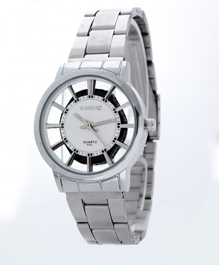 Bariho White Dial Stylish Ladies Casual Watch E-991