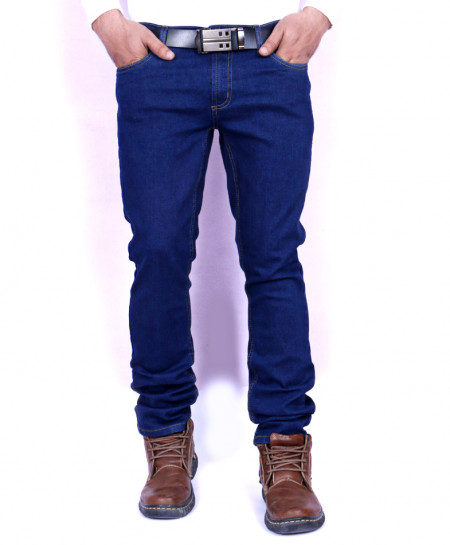 Deep Blue Stylish Jeans AJS-141