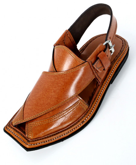 Orange Charsadda Chappal MZ-010
