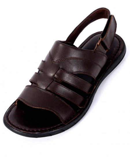 Dark Brown Stylish Casual Sandal SC-612