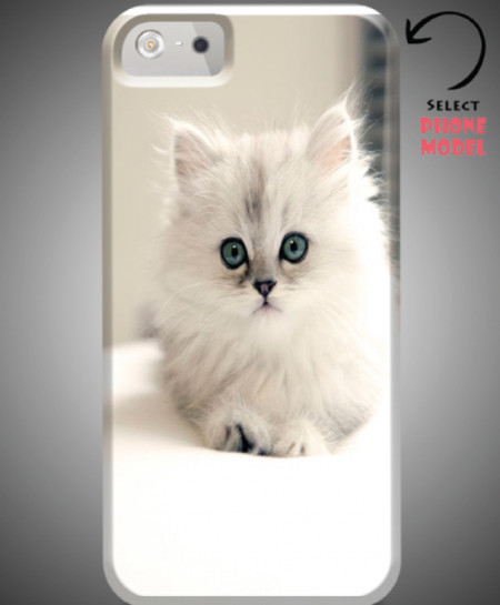 Cat Printed Mobile Back Cover WS-002