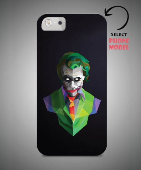pretty nice 2d8b2 a84a9 Joker Printed Mobile Back Cover WS-038
