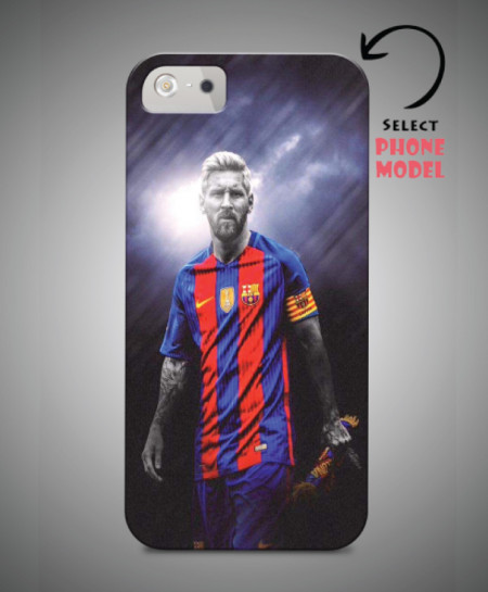 buy popular 597b1 0a389 Messi Printed Mobile Back Cover WS-116