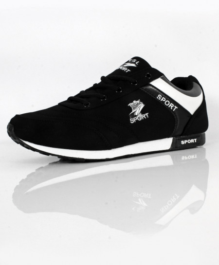 Black Stylish Design Sport Shoes SC-637