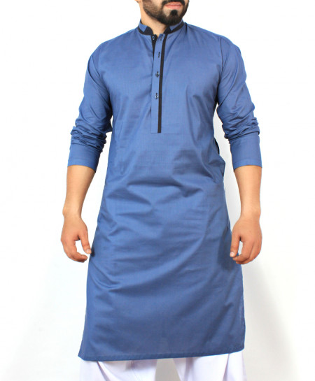 Blue Stylish Design Kurta CD-003