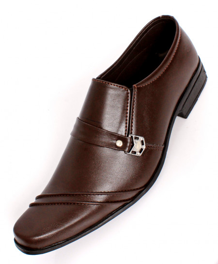 Choco Brown Modern Stylish Formal Shoes IS-025