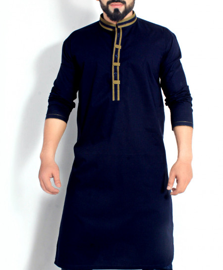 Royal Blue Stylish Design Kurta CD-009