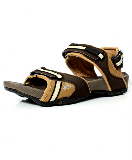 Fawn Brown Stylish Design Casual Sandal DR-492