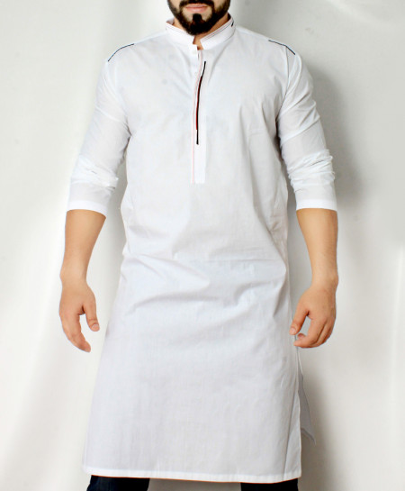 White Stylish Design Kurta CD-013