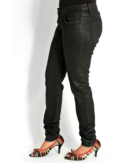 Black Stylish Ladies Jeans FSF-002
