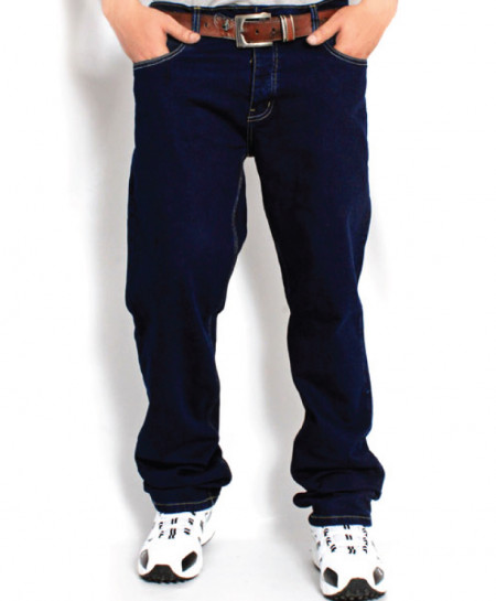 Dark Blue Stylish Men Jeans PSM-007