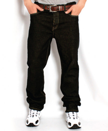 Greyish Black Stylish Men Jeans PSM-009