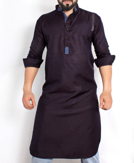Purple Stylish Design Kurta CD-017