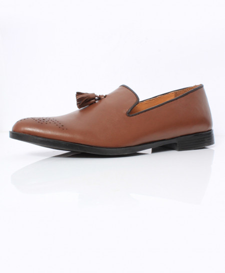 Plain Brown Stylish Design Formal Shoes CB-2152