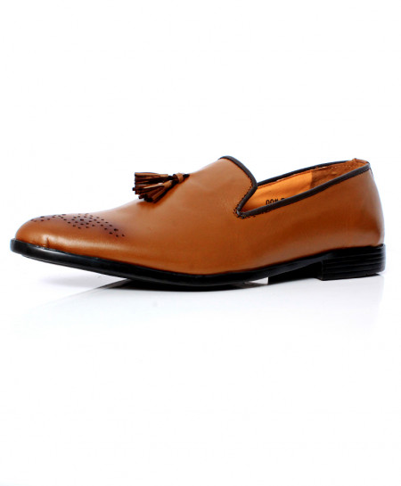 Brown Shaded Design Stylish Formal Shoes CB-2154