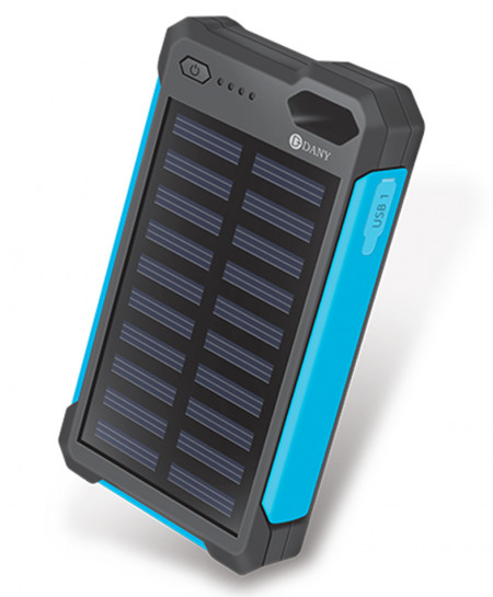Dany Solar Mobile charger i2 with Bright LED Torch Light