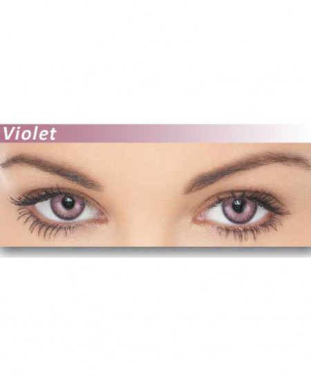 Dazzler Eyes Voilet Powered Contact Lenses