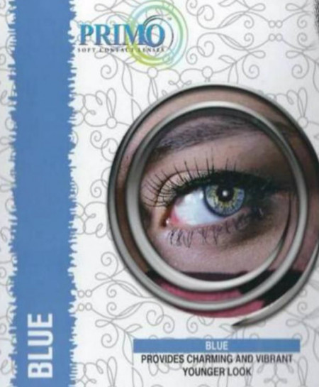 Primo Eyes Blue Powered Contact Lenses