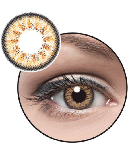 Optiano Eyes Hazel Powered Contact Lenses