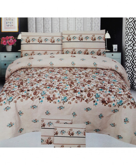 Skin Floral Style Cotton Bedsheet SY-514