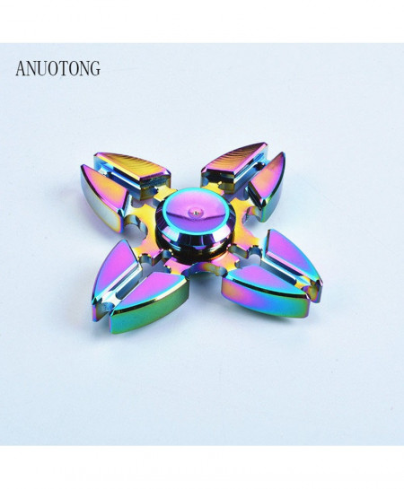 Colorful Four Hand Fidgets Spinner