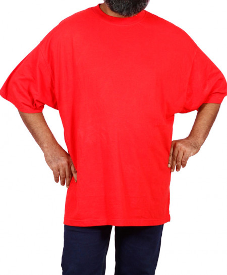 Red Half Sleeves T-Shirt PSM-030
